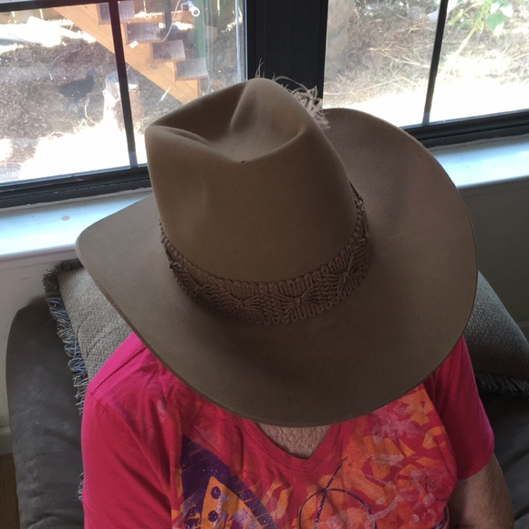 Vintage Resistol Stagecoach Cowboy Hat. M 5b3504fbf63eea56b11fef8d a02818abc4bb